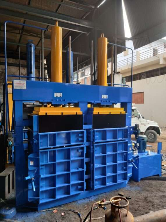 50 TON DOUBLE BOX AND DOUBLE CYLINDER
