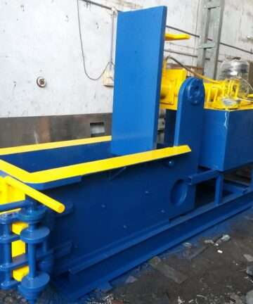 DOUBLE ACTION BALING PRESS MACHINE 2 CYLINDER